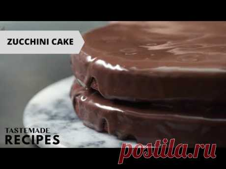 How to Make a Chocolate Zucchini Poke Cake From Scratch | Tastemade