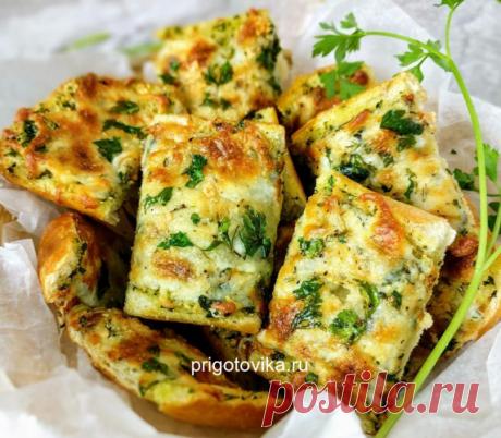 Обалденный завтрак для всей семьи! Вкуснейшие сырные греночки — 🍎 Сад Заготовки