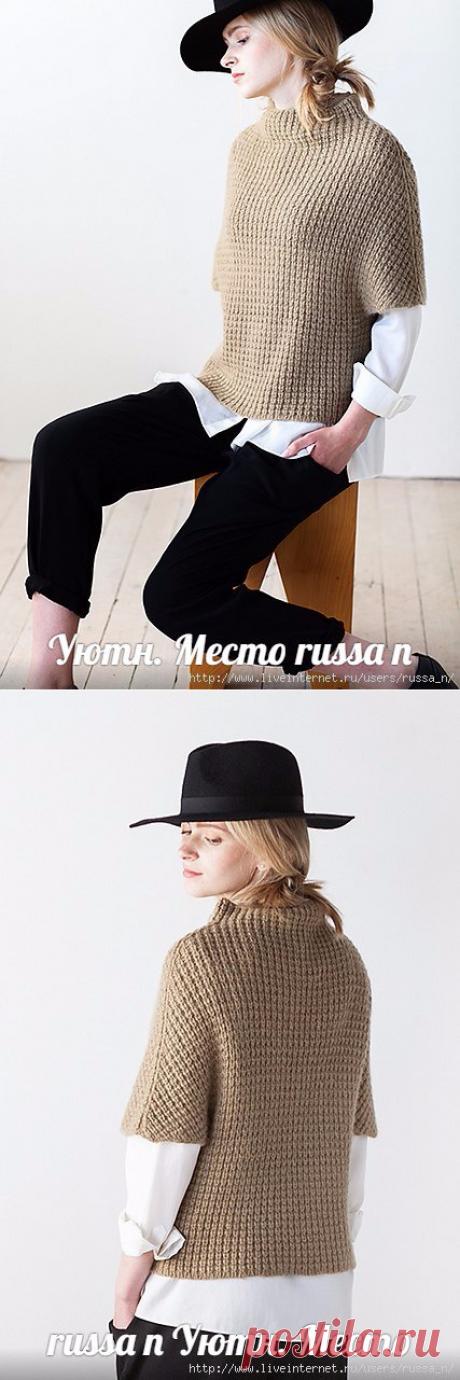 "ЖИЛЕТ СПИЦАМИ ""KNUS"" by Olga Buraya-Kefelian."
