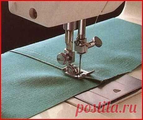 Запошивочный шов (Шитье и крой)   Журнал Вдохновение Рукодельницы