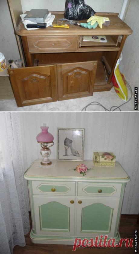 Buscar posts: переделка старой мебели