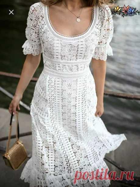 Инста подборка кружевных платьев для вдохновения рукодельницам и не только.... | Asha. Вязание и дизайн.🌶 | Яндекс Дзен