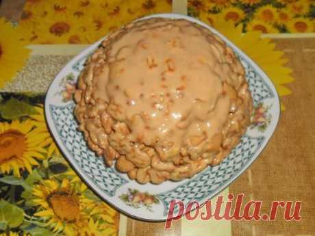 """Торт без выпечки из крекера """"Рыбки"""" - Простые рецепты Овкусе.ру"""