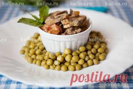 Печень в сметане – рецепт приготовления с фото от Kulina.Ru