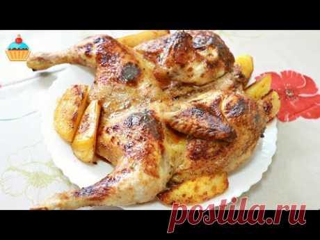 Ну, оОчень вкусная - Курица запеченная в духовке!