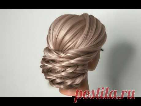 اموزش شینیون شیک_hairstyle_wedding hairstyle