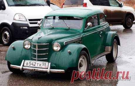 Авто самоделка Москвич 401 Custom Химера Самодельный автомобиль на базе Москвич 401: фото и описание авто самоделки