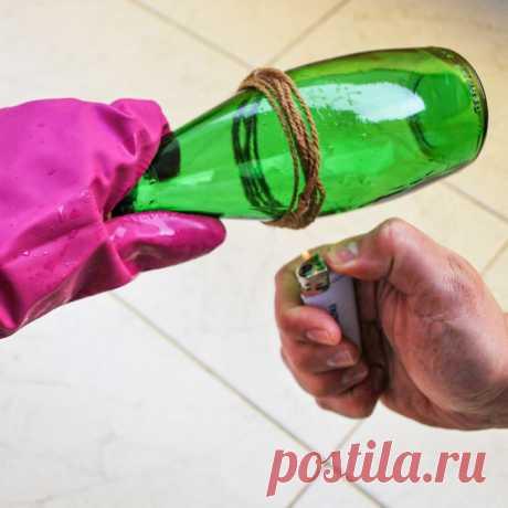 Как разрезать стеклянную бутылку   Рекомендательная система Пульс Mail.ru