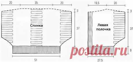 Жакет-пончо из итальянского журнала (описание) | Идеи рукоделия | Яндекс Дзен