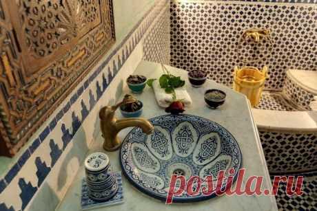 Невероятно красивый дизайн ванных комнат в марокканском стиле - Дизайн интерьеров   Идеи вашего дома   Lodgers