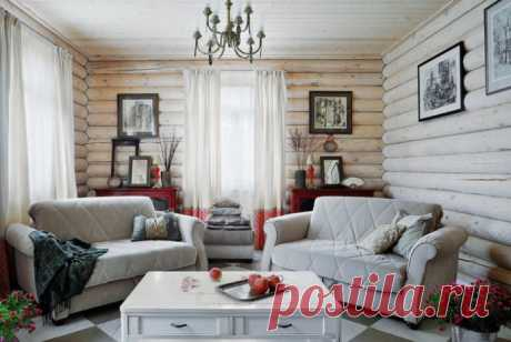 Интерьер дома из бревна: фото в комнатах, стили, отделка, мебель, текстиль и декор Особенности интерьера дома из бревна. Фото внутренней отделки, дизайн в различных стилях. Выбор текстиля, освещения, мебели и декора.