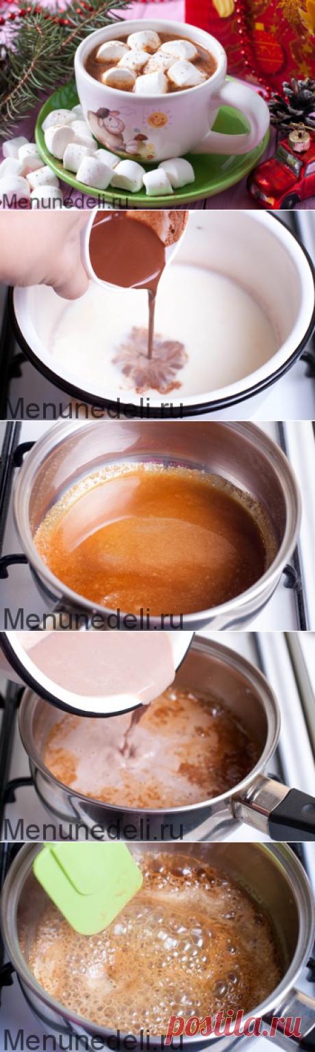 Рецепт карамельного какао / Меню недели