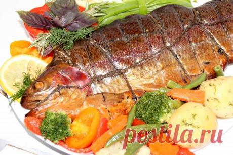 Форель горячего копчения – 7 рецептов рыбных блюд