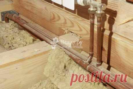 Водопровод в частном доме: как выбрать и развести трубы