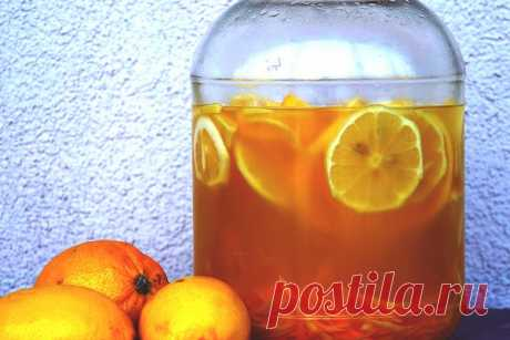 Лимончелло - итальянский лимонный ликер в домашних условиях
