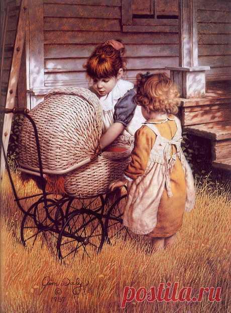 Сентиментальное путешествие в страну детства с Джимом Дейли | Журнал Ярмарки Мастеров