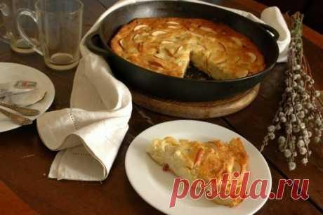 Как приготовить творожная запеканка с яблоками - рецепт, ингредиенты и фотографии