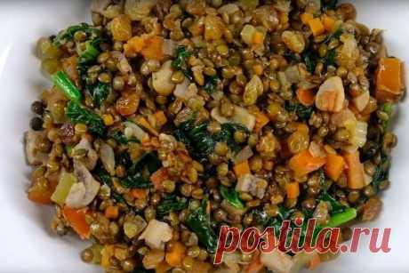 Чечевица с овощами: полноценное блюдо на каждый день. | Fresh.ru домашние рецепты | Яндекс Дзен