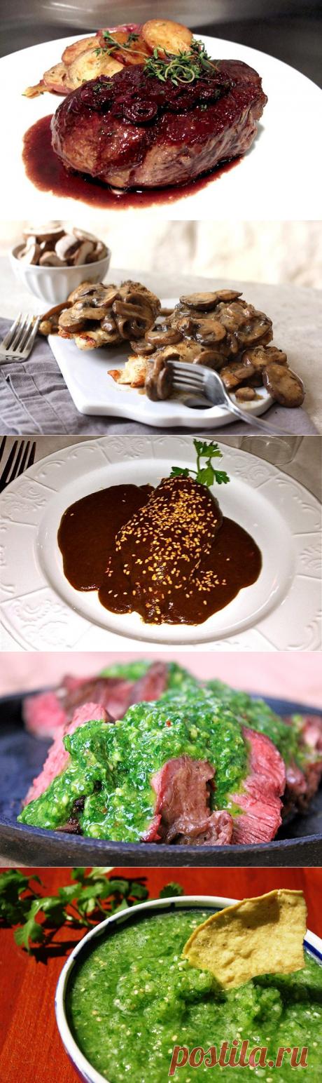 ТОП-10 великолепных соусов к мясу