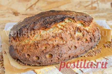 Хлеб с морской капустой и гречкой   Волшебная Eда.ру