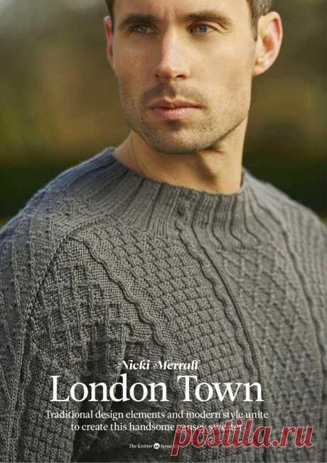 Пуловер мужской London Town