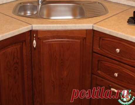 Как удалить жировой налет, грязь с деревянной кухни и одновременно придать ей первоначальный вид: