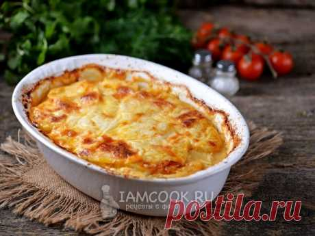 Potato lasagna — the recipe with a photo the Lasagna with potato and forcemeat - a tasty, nourishing family dinner or a lunch.