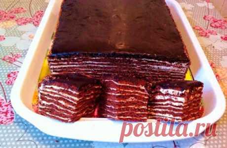 Momentnews: Торт СПАРТАК: шоколадный торт, пошаговый рецепт (очень вкусный)