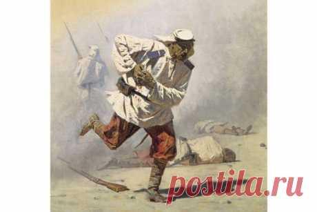 В. В. Верещагин. Смертельно раненый, 1873