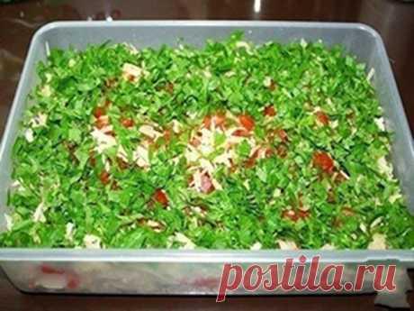 Самый вкусный салат, который я когда-либо пробовала - Вкуснотища необыкновенная!