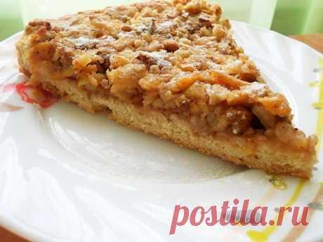 Как приготовить венгерский ореховый пирог с яблоками - рецепт, ингредиенты и фотографии