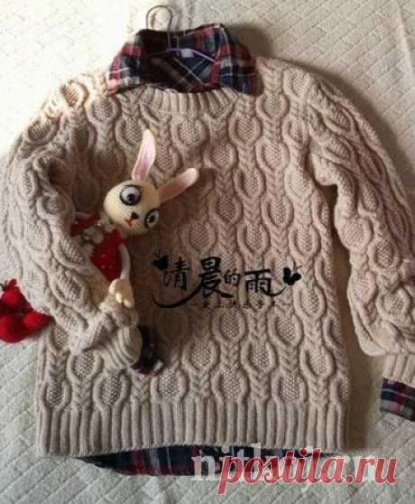 Узор кос для свитера » Ниткой - вязаные вещи для вашего дома, вязание крючком, вязание спицами, схемы вязания