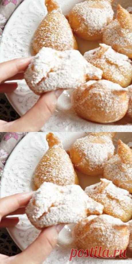 Шикарные, маленькие и легкие пончики по-французски «Пе-де-нонн».