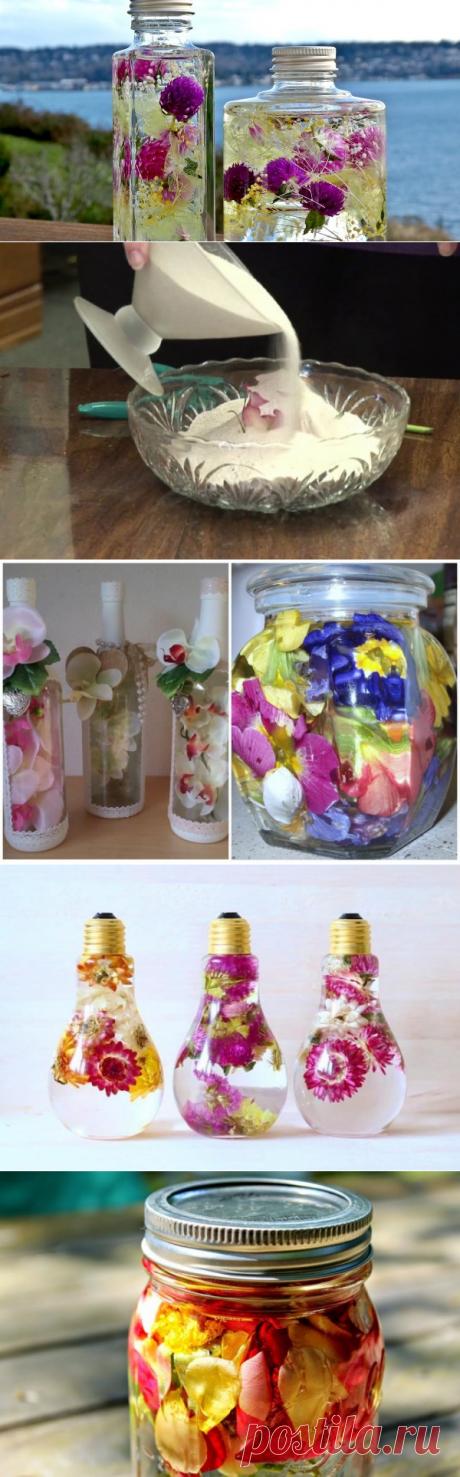 Как сохранить букет на годы? Учимся консервировать цветы | Тренды (Огород.ru)