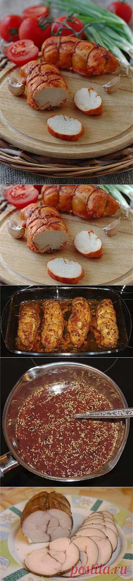 3 рецепта куриной пастромы