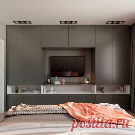 Как установить телевизор в спальне: правила и советы | flqu.ru - квартирный вопрос. Блог о дизайне, ремонте