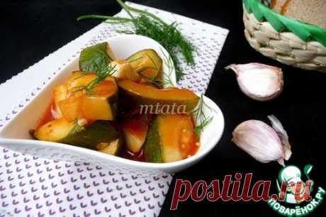 Цуккини в томате – кулинарный рецепт