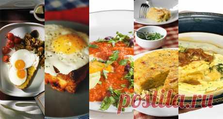 Одиннадцать завтраков из яиц Как готовить омлет, глазунью, крок-мадам, шакшуку и прочую классику