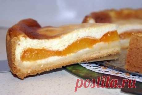 Как приготовить творожный пирог с абрикосами  - рецепт, ингредиенты и фотографии