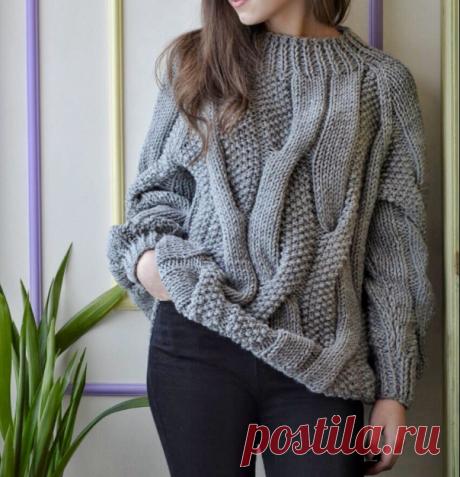 Не знаете, что связать? Идеи женских свитеров | Факультет рукоделия | Яндекс Дзен
