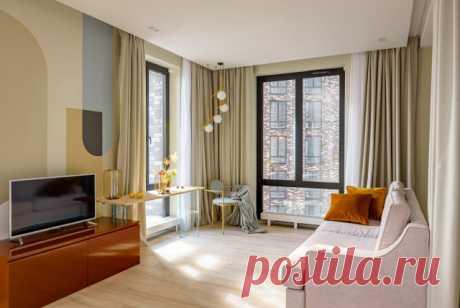 Houzz тур: Квартира в аренду — в оттенках городской панорамы Такой кухне, как в этом проекте, позавидуют многие