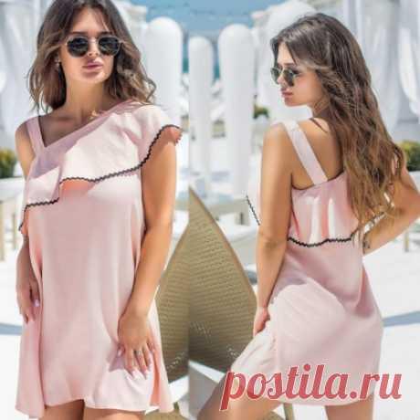 Платье на одно плечо | летняя коллекция платьев уже на сайте. Скикди всем.