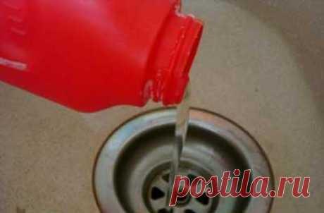 Засор в ванной – как прочистить, лучшие средства >> Ванная плюс
