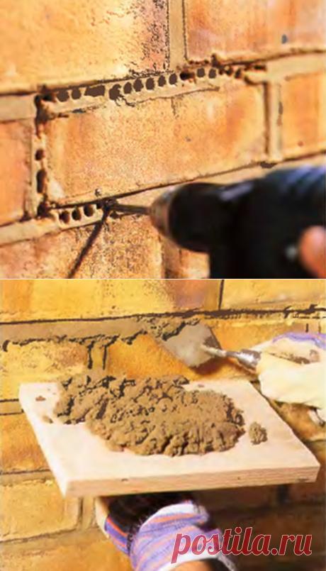 Ремонт кирпичной кладки стен дома - Новодеревянковский портал