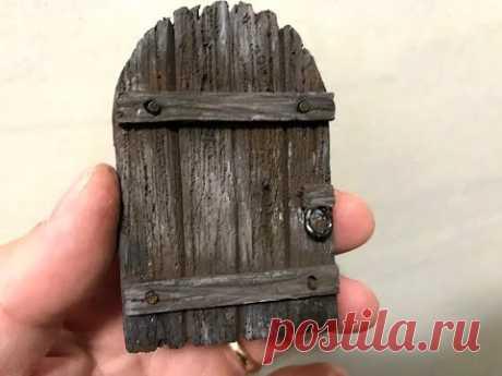 Costruire un portone di legno in polistirene