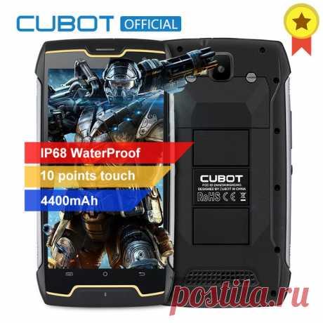 Оригинал Cubot KingKong Водонепроницаемый смартфон с IP68 пыле противоударный Сотовая связь MT6580 четырехъядерный 5,0 дюймов HD 2 ГБ 16 ГБ 4400 мАч купить на AliExpress