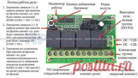 Радиореле с брелком AK-RK04S-II: цена, характеристики, отзывы | Купить AK-RK04S-II в интернет магазине Proline-Rus.ru
