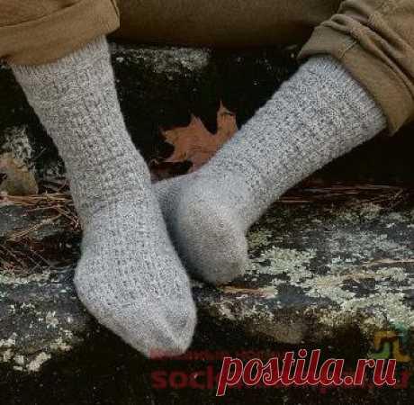 Мужские носки «Clan MacKenzie»   ВЯЗАНЫЕ НОСКИ
