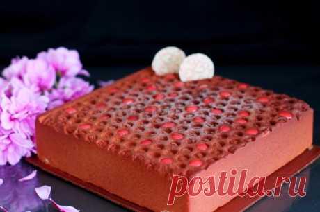 Велюровый торт с облепиховым мармеладом рецепт с фото пошагово - 1000.menu
