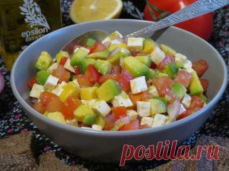 Самый вкусный салат из авокадо!!! - БУДЕТ ВКУСНО! - медиаплатформа МирТесен